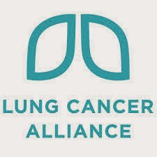 Lung Cancer Symbol