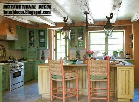 kitchen in Provence style interior designs ideas