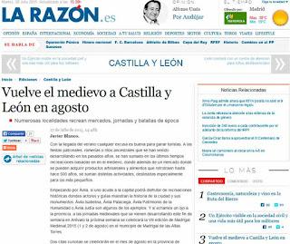 http://www.larazon.es/local/castilla-y-leon/vuelve-el-medievo-a-castilla-y-leon-en-agosto-KF10378637#.Ttt1Jm70Pc2dfRe