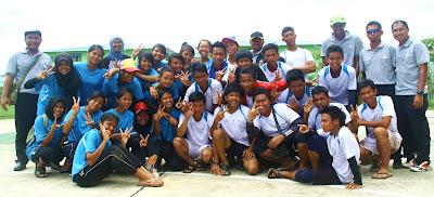Pasukan sofbol Sibu semasa Kejohanan Sofbol MSS Sarawak di Mukah 2012