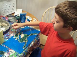 Painting salt map