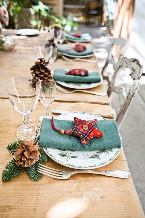loquesea decoracion de mesas para navidad