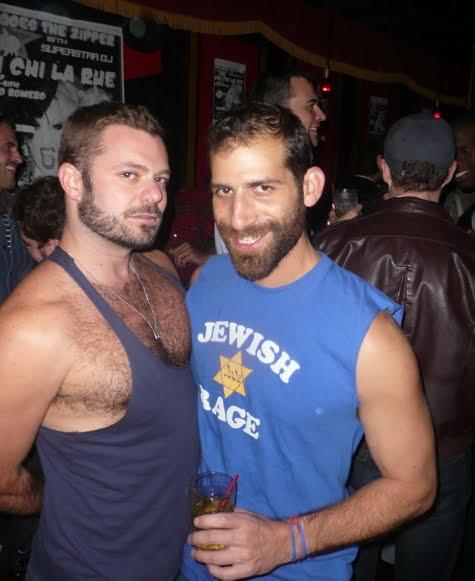 gay men Hairy jewish