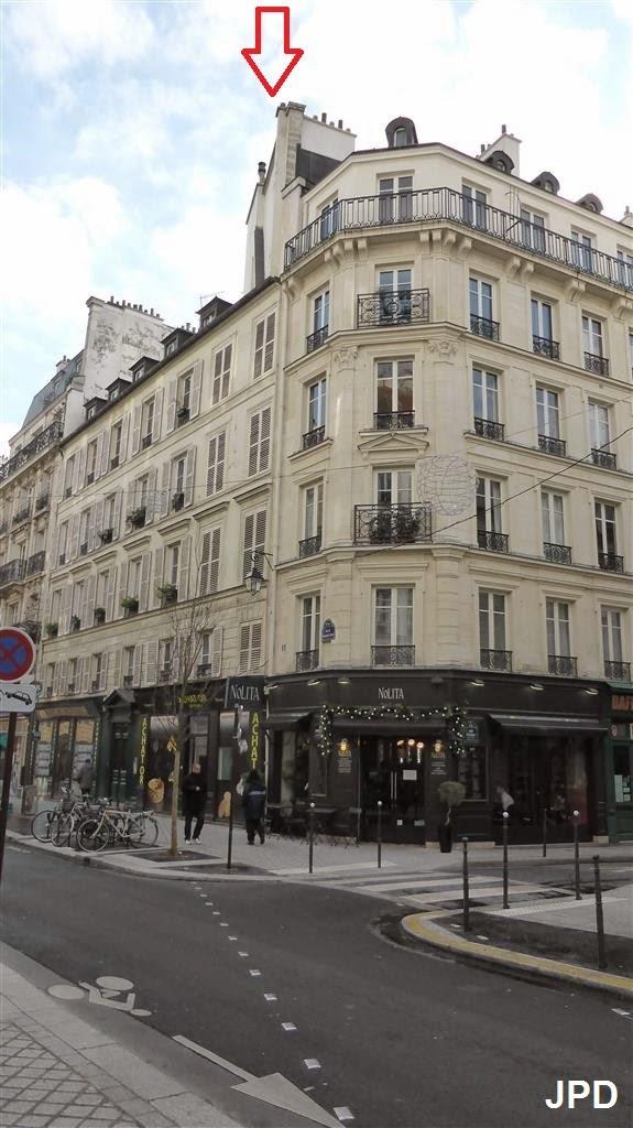 Paris bise art enceinte de philippe auguste le retour rue rambuteau - Rue rambuteau paris ...