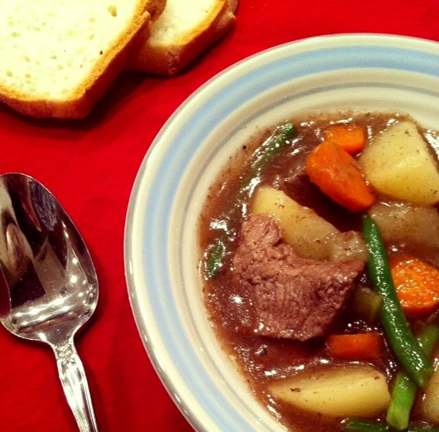 Old Fashioned Beef Stew Crock Pot