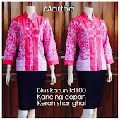 Blouse Batik DBT 4074 Harga Reseller : Rp 65.000,-