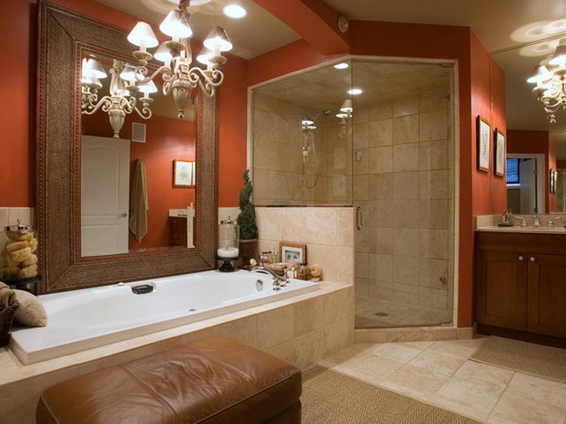 Country Bathroom Color Schemes Rustic Bathroom Color Ideas For ...
