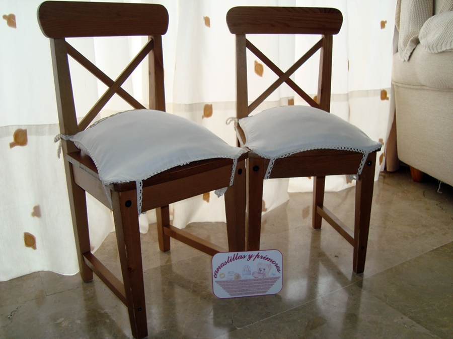 Cojines de sillas imagui - Como hacer cojines para sillas ...