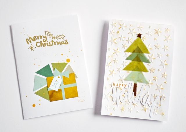 Weihnachtskarten Ideen