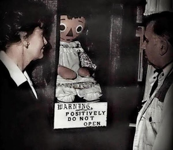 Haunted doll at Occult Museum