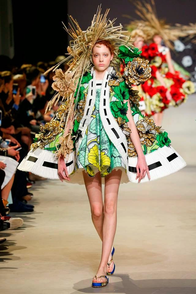VIKTOR & ROLF WITH VLISCO AT PARIS FASHION WEEK