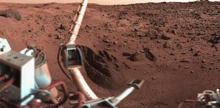 Marte visto por la Viking I