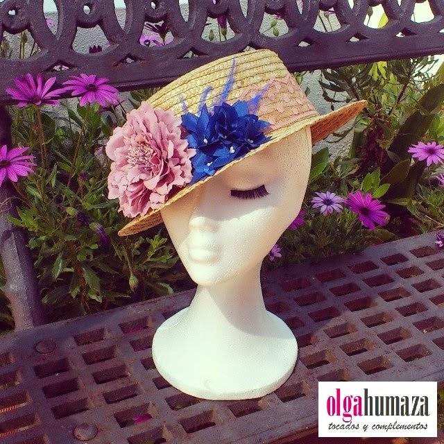 http://olgahumaza.blogspot.com.es/2014/04/b19-tocado-sombrero-canotier-azul-klein.html