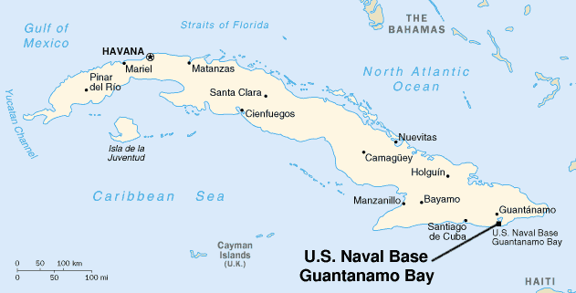 EUA: Baía de Guantánamo não voltará a Cuba