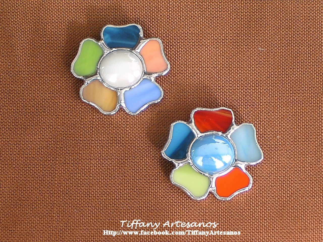 Broches de flores no. 27