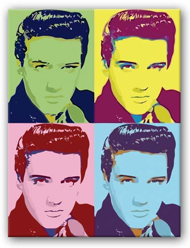 Andy Warhol Paintings Elvis The Image Kid Has It