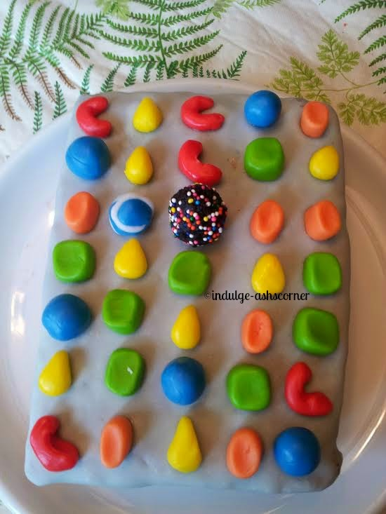 3D Candy Crush Saga Cake