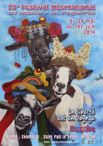 23e festival de banne bann art singulier - outsider art magazine gricha rosov