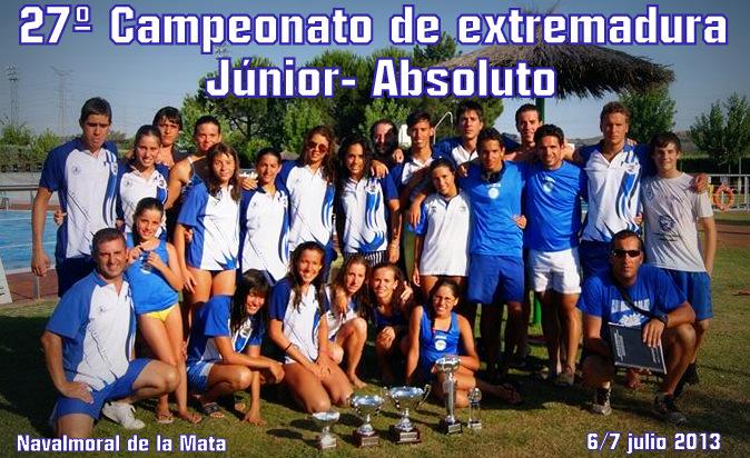 Alonso lozano mi blog xxvii campeonato de extremadura for Piscinas naturales navalmoral dela mata