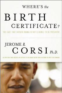 Jerome Corsi Where's the Birth Certificate