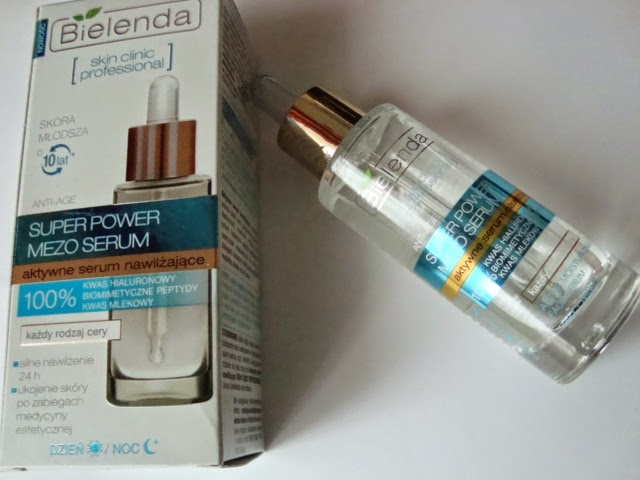 BIELENDA SUPER POWER MEZO Serum i Tonik do twarzy