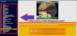 Situs download game jadul PS 1 (PS 1, Game Gear, Super Nintendo,Amiga, Amstrad) Terbaik dan terlengkap - Freeroms.