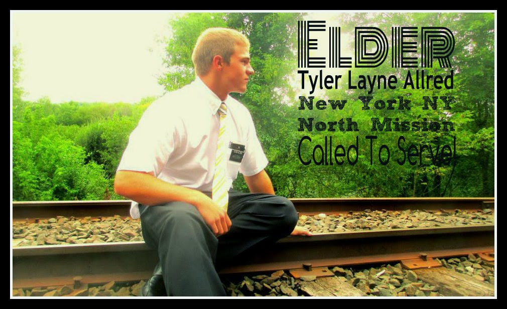 Elder Tyler Layne Allred: New York New York North Mission