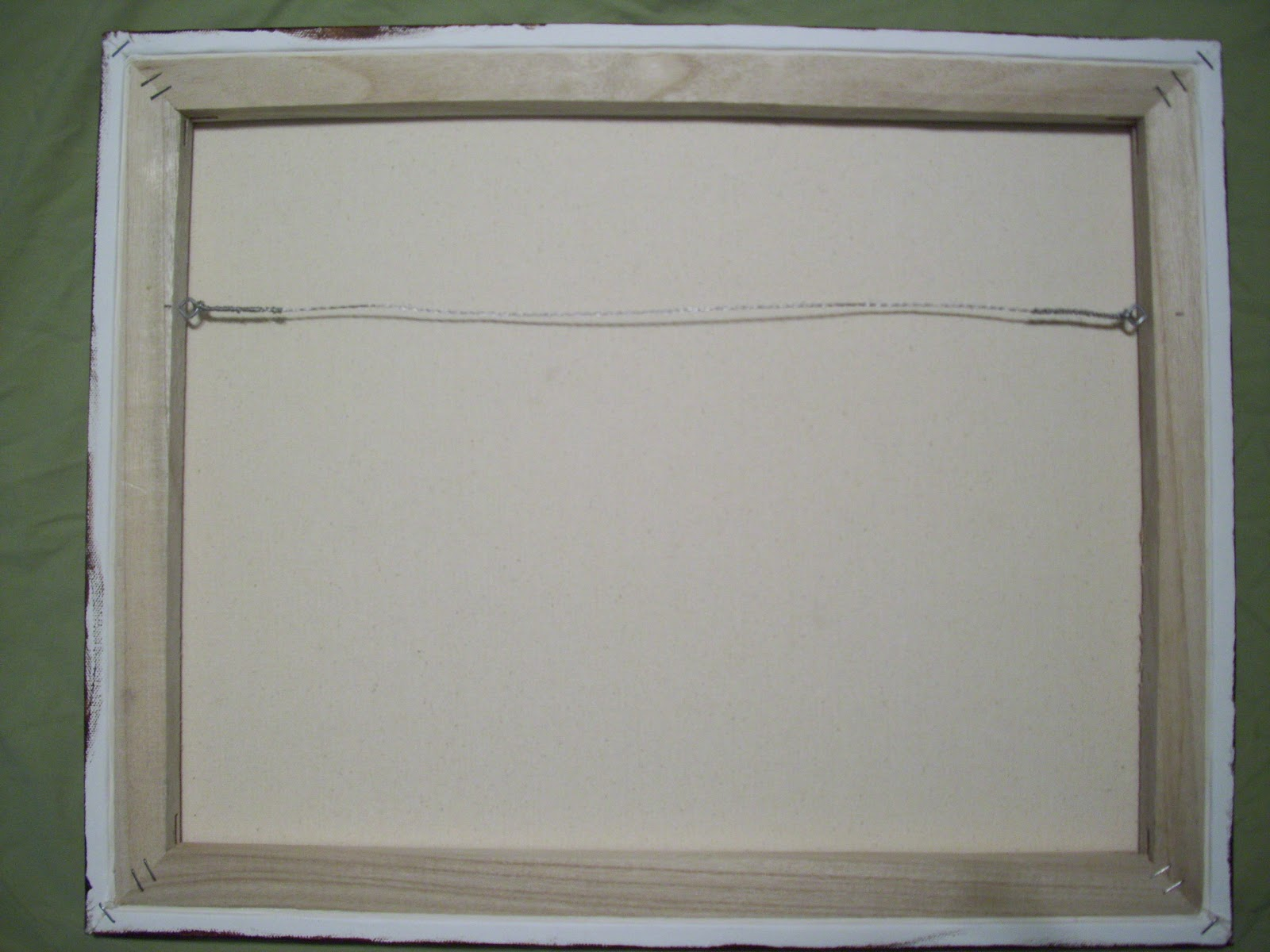 Hanging Photos On Wire artjae: how to wire a painting for hanging