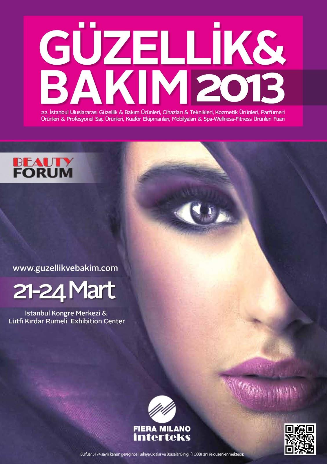 Güzellik ve bakım fuarı 2013
