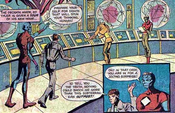 Atlas Comics, Phoenix #1, aliens