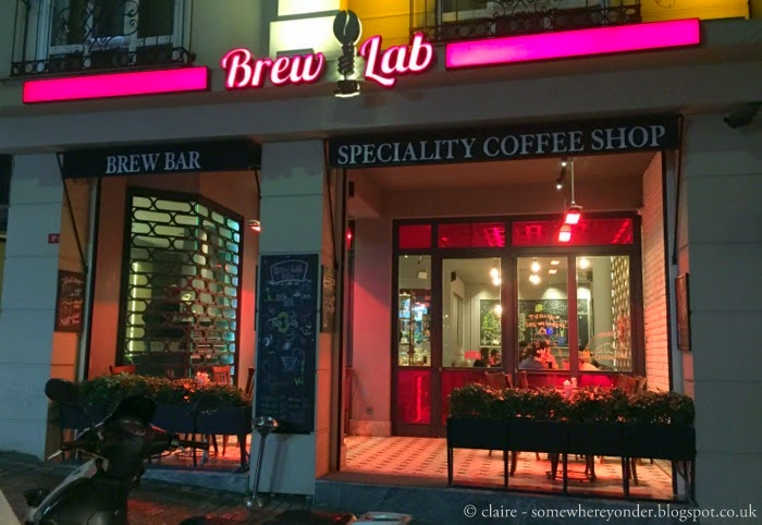 the one and only Brew Lab, Istanbul