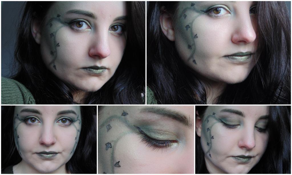 Halloween Tutorial: Poison Ivy