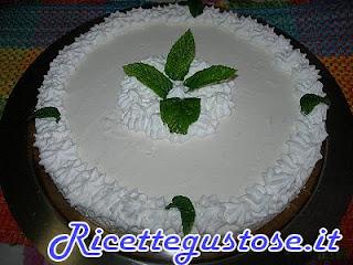 Cheesecake limone e menta , ricetta cheesecake