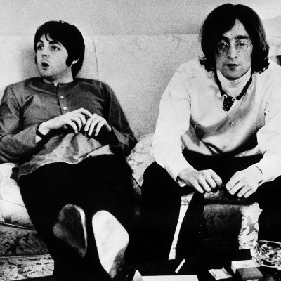 John Lennon And Paul McCartney Some People May Scoff At This One Since Were Collaborators Band Mates More Than They Actually