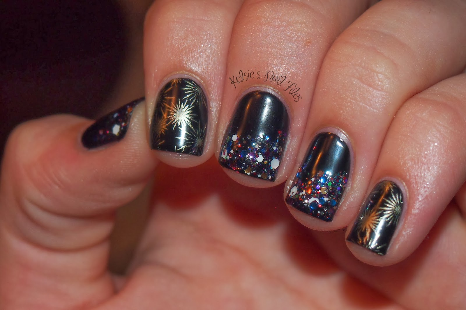 Nail Art Ideas » Nail Art Happy New Year - Pictures of Nail Art ...