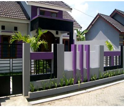 Warna Cat Tembok Pagar Rumah Minimalis