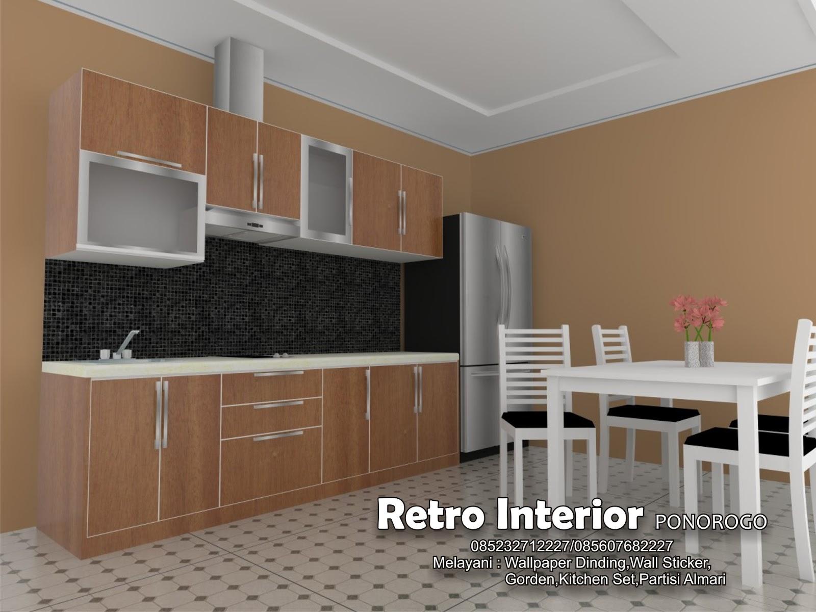 Inspirasi Desain Ruang Tamu Menyatu Dengan Dapur Masa Kini