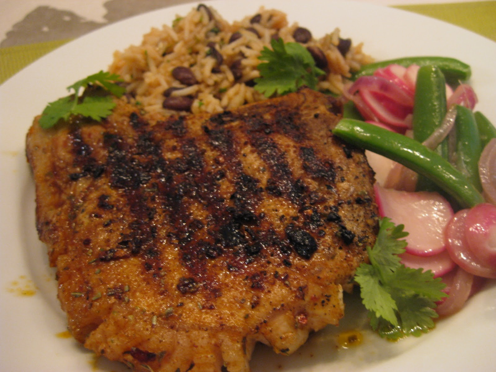 food fanatic: Recipe: Grilled Pork Chops with Adobo Paste