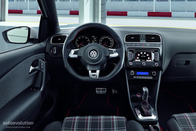 VW Polo GTI Interiors India Auto Expo