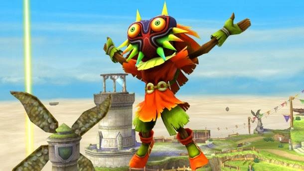 Skull Kid será un personaje de apoyo en el nuevo Super Smash Bros.