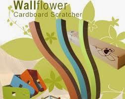 Wallflower, Scratcher en Carton Recyclable pour les Chats