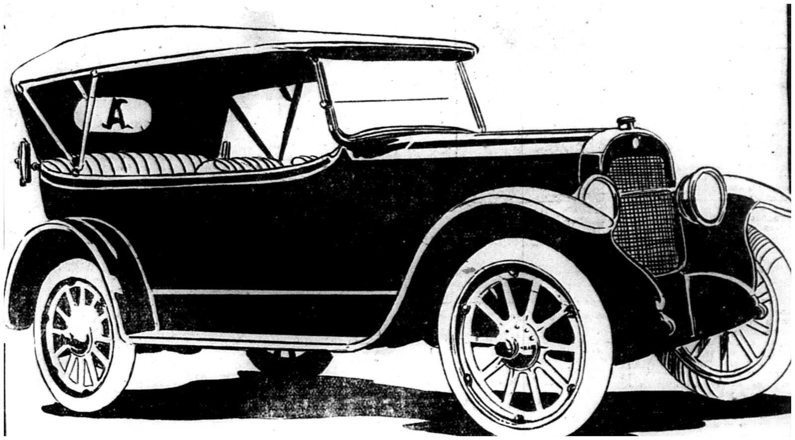 1918 Columbia Six