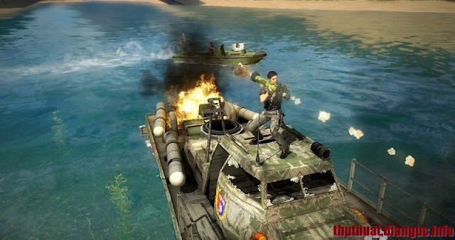tải game hành động Just Cause 2 - RELOADED Full Crack