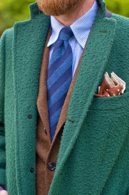 Casentino. ¿El paño de moda para los abrigos?