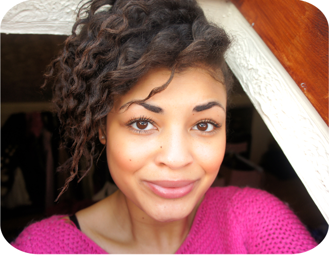 Flat Twist Out on Transitioning to natural hair
