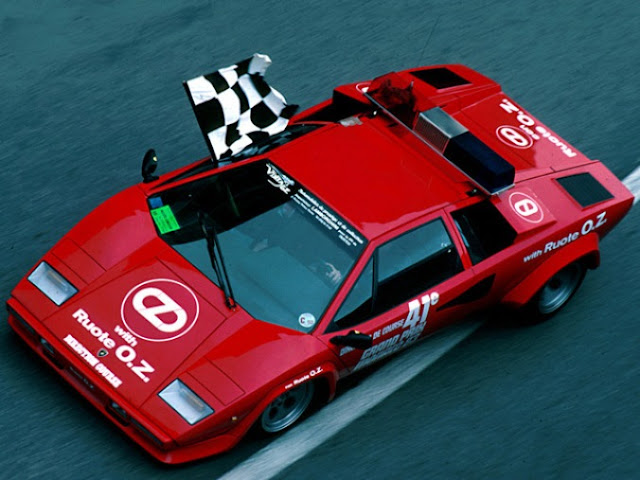 Lamborghini Countach LP400 S Monte Carlo GP Pace Car