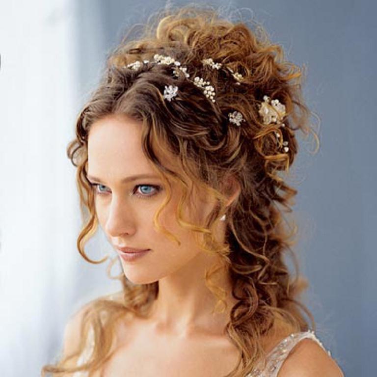 Peinados Boda Pelo Rizado - Recogidos para invitadas de boda Fotos de los mejores