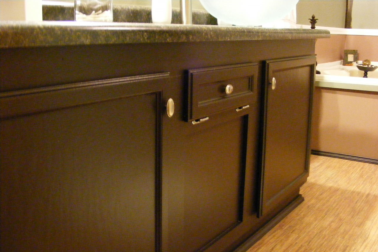 Behr Espresso Beans Cabinets