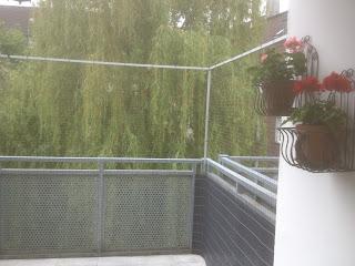 Dortmund Katzennetz an Balkon