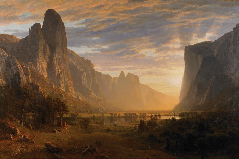 19th century American Paintings: Albert Bierstadt, ctd